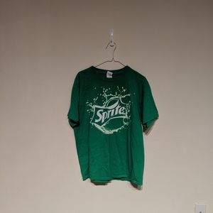 Sprite green t-shirt size L